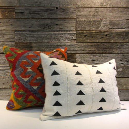 Abelia African Mudcloth Pillow