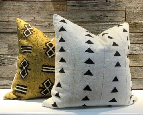 Aanya African Mudcloth Pillow