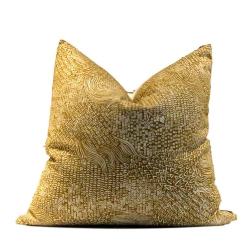 Yellow African Pillow