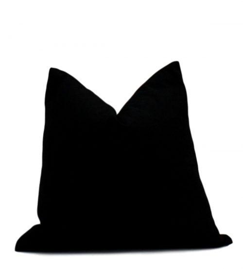 black linen back
