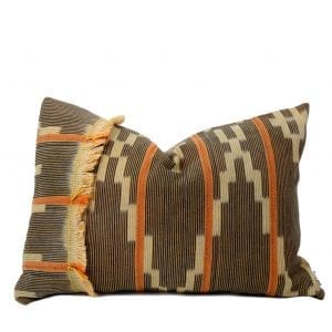 African Baule Pillow Cover