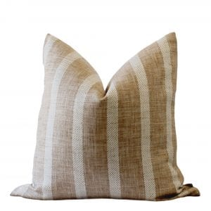 Guthrie Pillow Cover Mustard Stripe