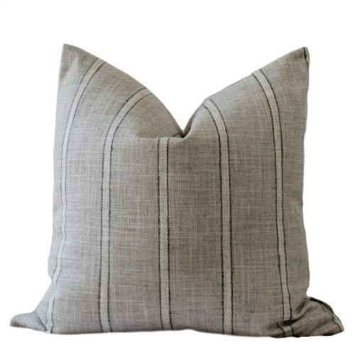 farm house stripe pillow