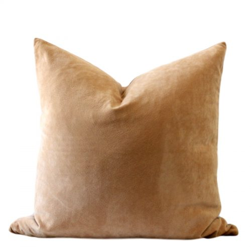 vegan suede pillow