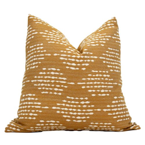 mustard pillow cover